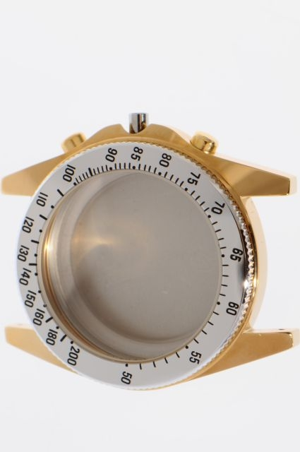 gent 39 s chronograph case for movement valjoux 7750 nos ebay. Black Bedroom Furniture Sets. Home Design Ideas